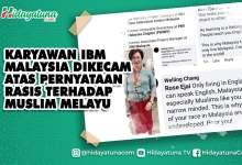 Photo of Keluar Pernyataan Rasis, Karyawan IBM Malaysia Dikecam
