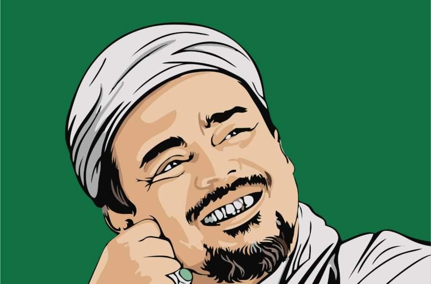 Habib Riziq Shihab Bimbing Ayah dan Anak Narapidana Mualaf