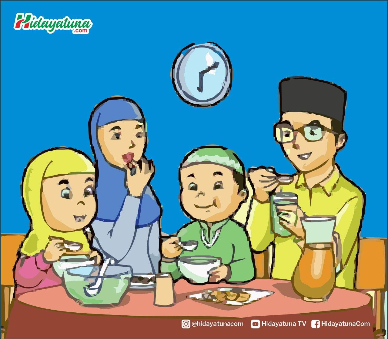 Membangun keluarga yang harmonis (Ilustrasi/Hidayatuna)