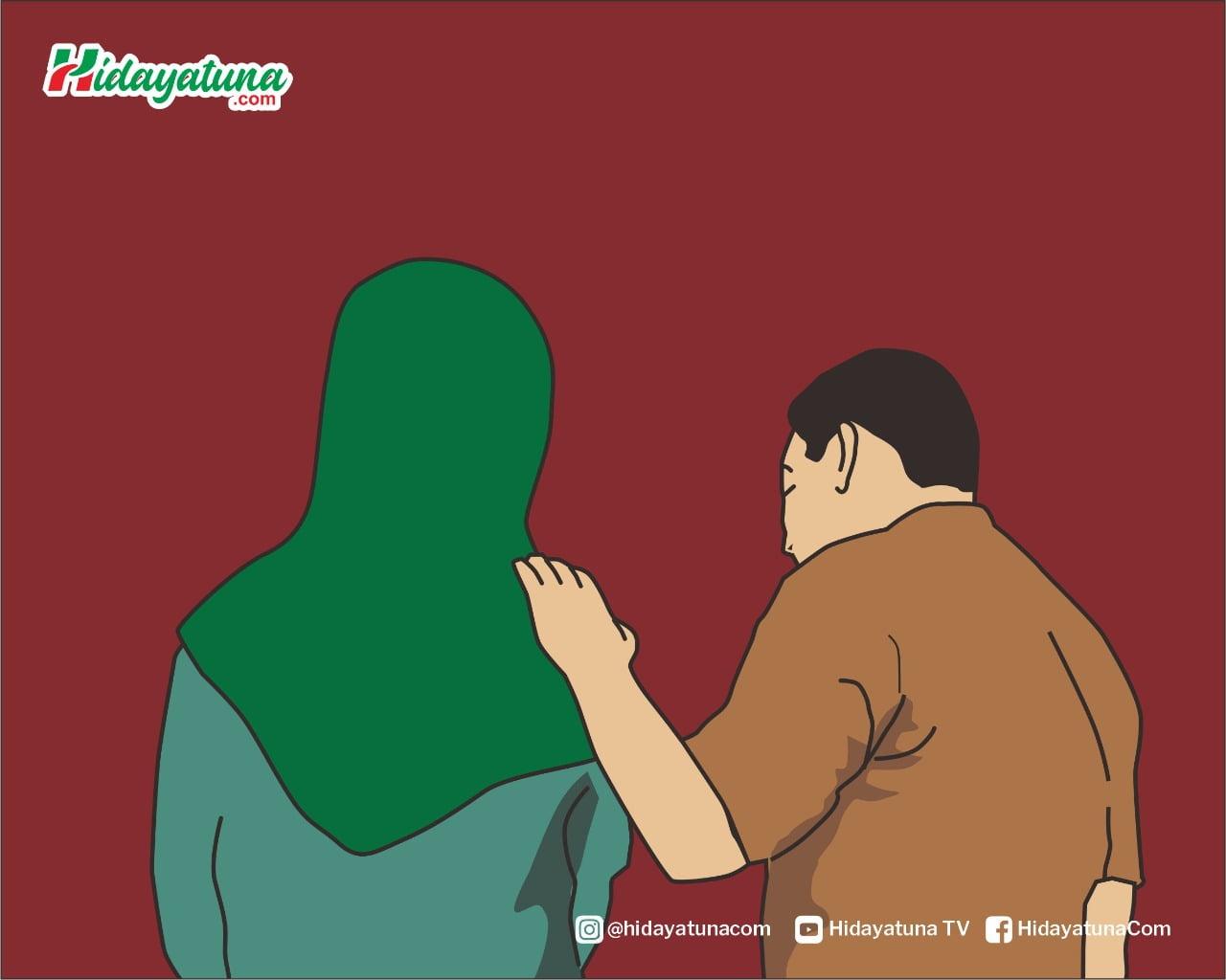 Memperlakukan istri dengan baik sesuai hadis (Ilustrasi/Hidayatuna)