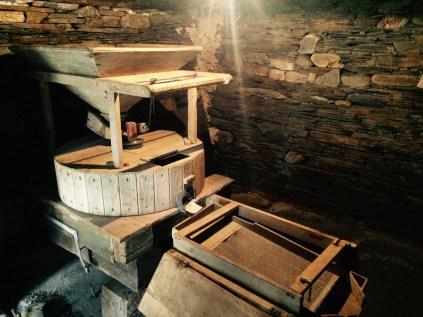 old flour mill, asturias, north of Spain