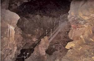 Ancient lava caves