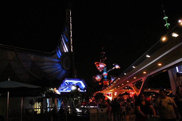 Tomorrowland at Disneyland Secrets