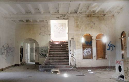 abandoned all-boys military school hidden california