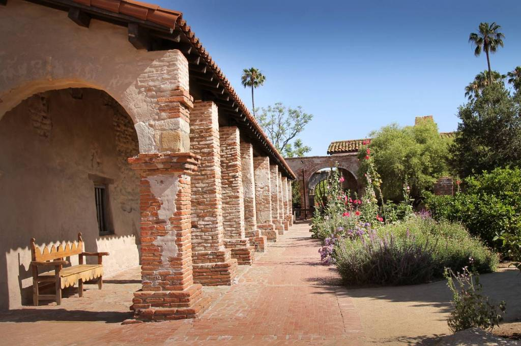 Visit the historic Mission San Juan Capistrano, built in 1786!