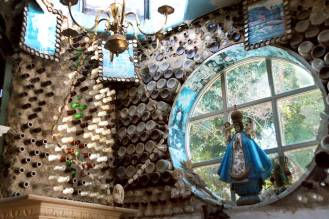 Tios Tacos is a one-of-a-kind dining experience, with delicious food and recycled art decor