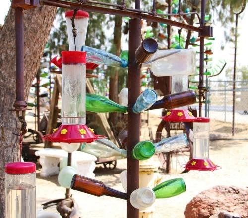 Elmer's Bottle Tree Ranch hidden ca