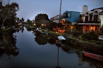 Get a glimpse of Venice, Italy through the historical canals in Venice Beach!