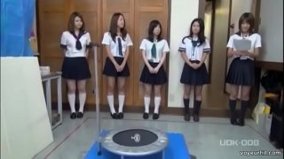 Japanese Voyeur Filming A Bunch Of Japanese Schoolgirls