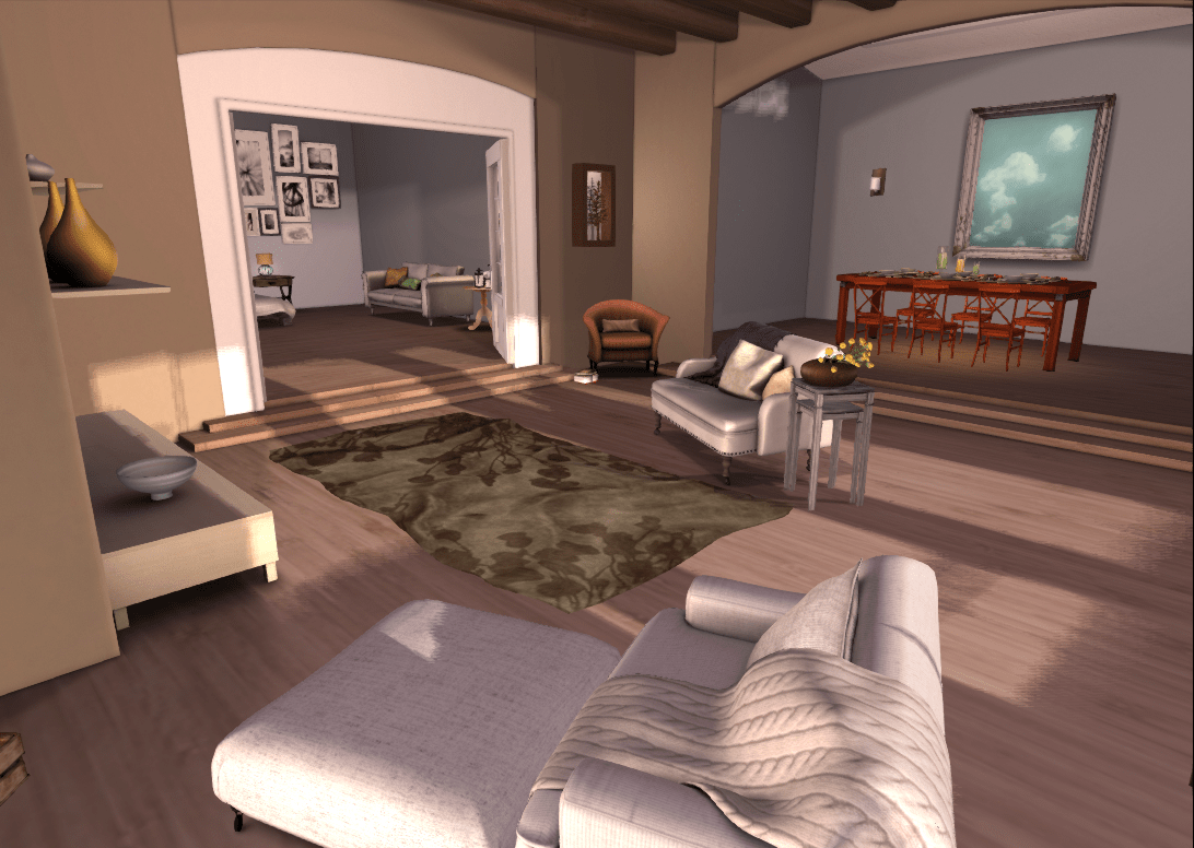 Hiddencrawlspace Gtgt Second Life Furniture Amp Decor Blog