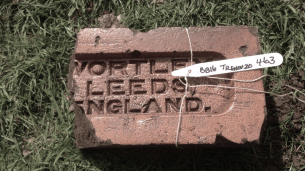 Excavated brick