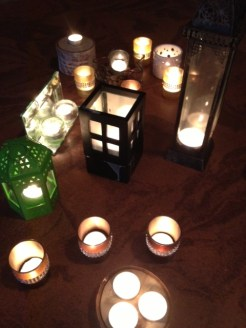 Yoga and Candles at Hidden Forest Studio