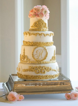 utah catering and cakes gold cake 4 layers