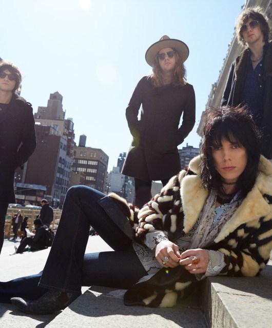 Photo of The Struts featured on Hidden Herd new music blog
