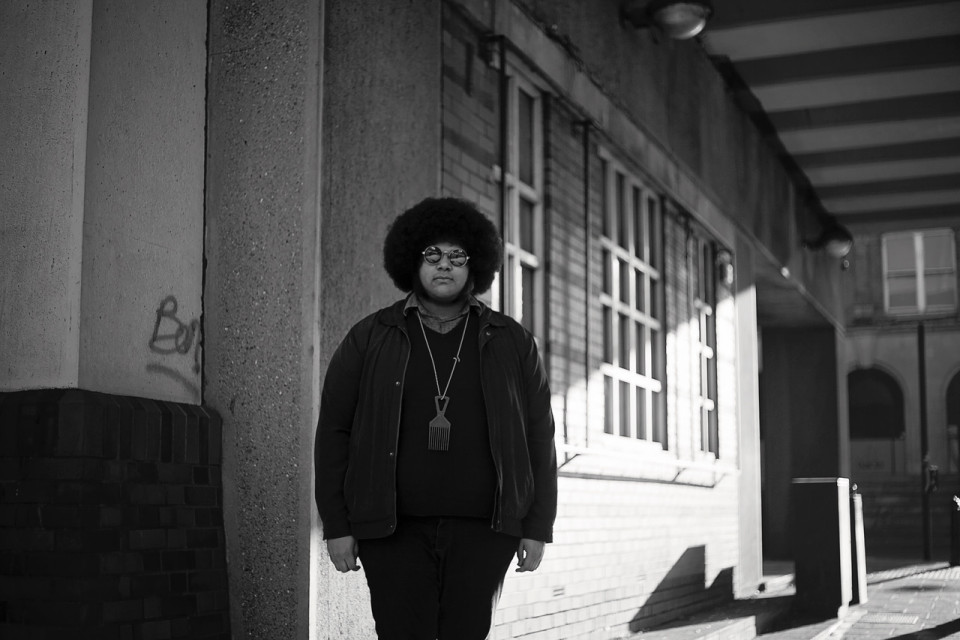 Photo of Dylan Cartlidge featured on Hidden Herd new music blog