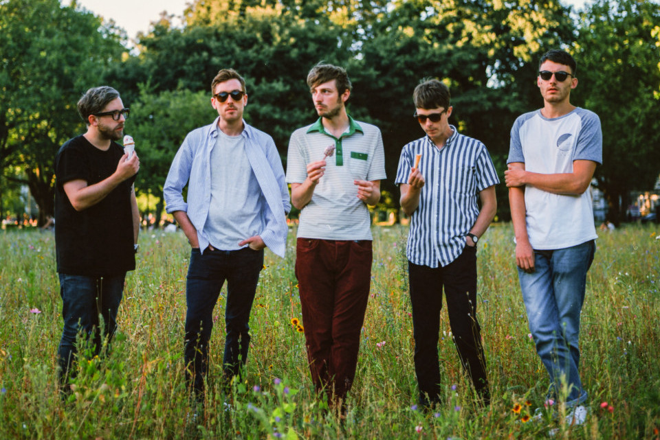 Photo of Swimming Tapes featured on Hidden Herd new music blog