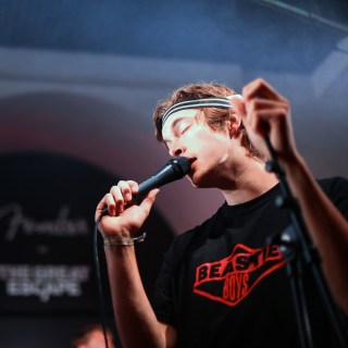 Photo of FEET at The Great Escape Festival 2018 featured on Hidden Herd new music blog