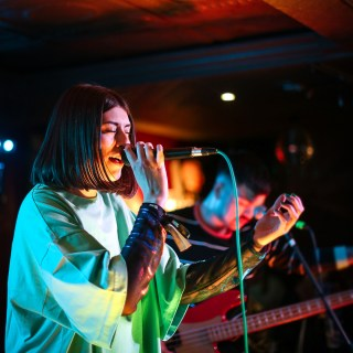 Photo of Orchards at The Great Escape Festival 2018 featured on Hidden Herd new music blog