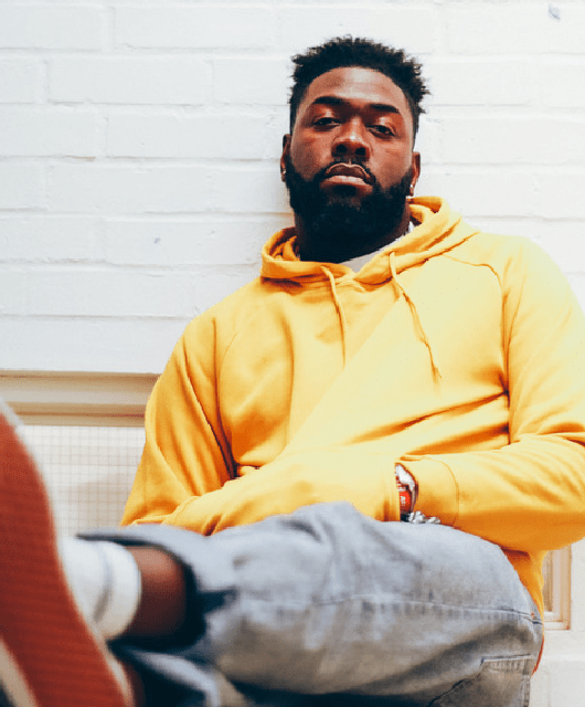 Photo of Jake Isaac featured on Hidden Herd new music blog