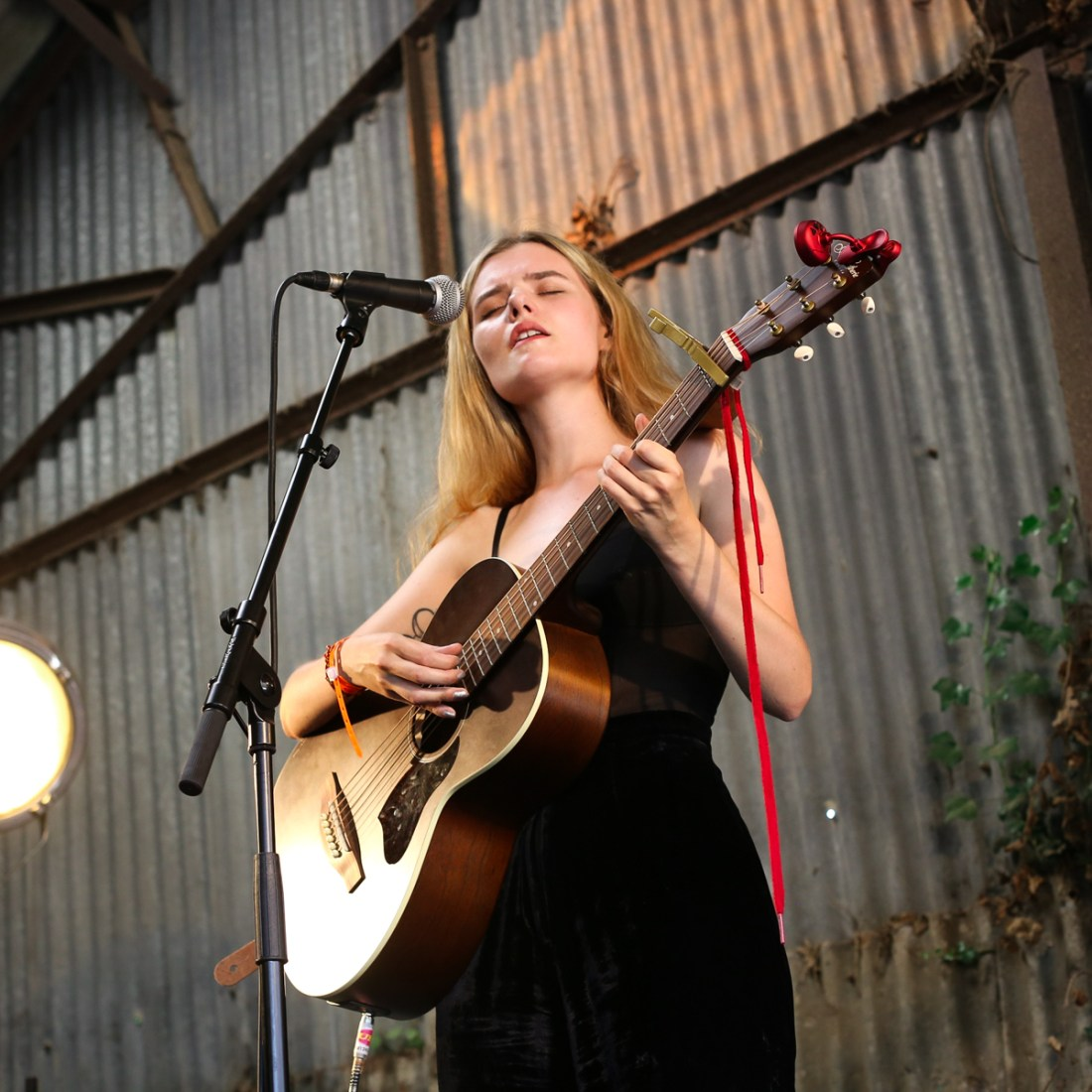 Photo of Rosie Carney featured on Hidden Herd new music blog
