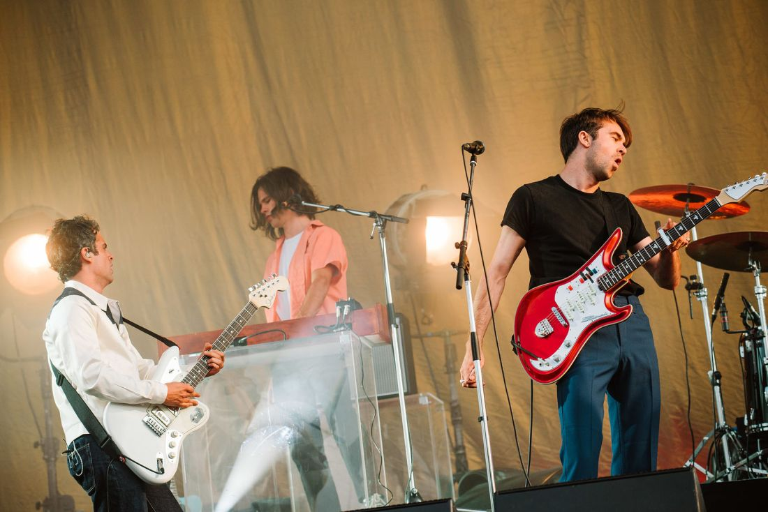 Photo of The Vaccines featured on Hidden Herd new music blog