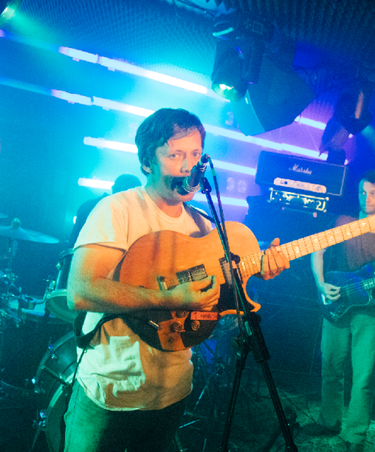 Photo of British Sea Power featured on Hidden Herd new music blog