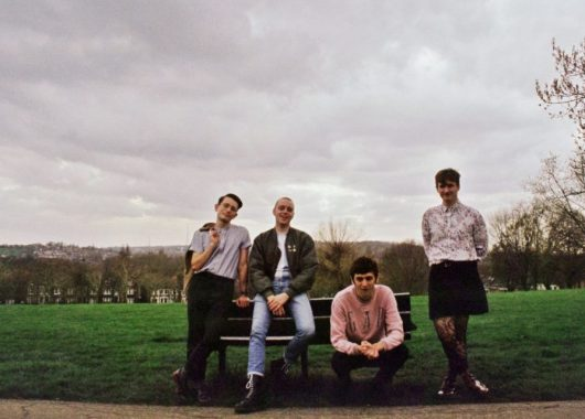 Photo of Italia 90 featured on Hidden Herd new music blog