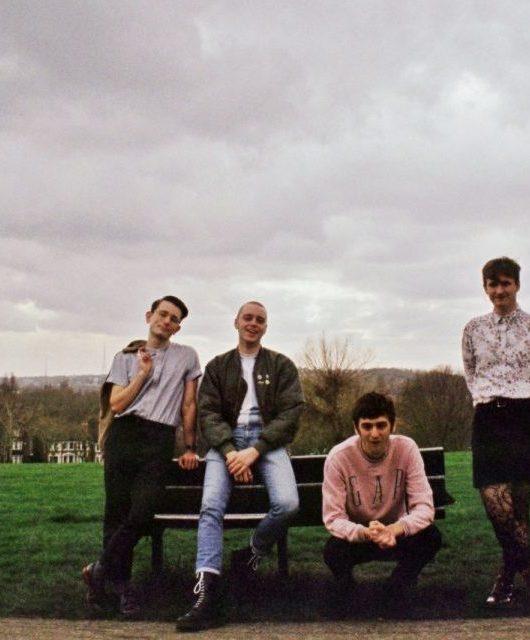 Photo of Italia 90 featured on Hidden Herd new music blog