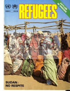 Front cover of Refugees Magazine - April 1985