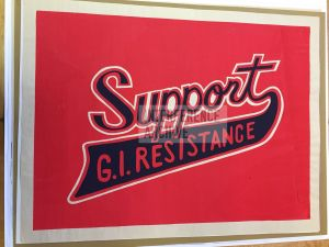 """Support GI Resistance"" poster"