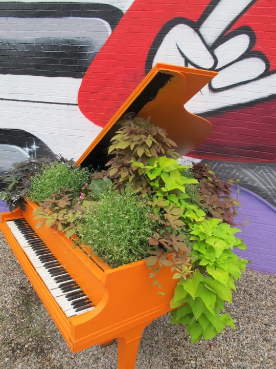 All You Always Wanted to Know About Landscaping a Piano