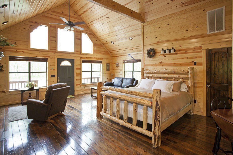 Summer Brook Cabin In Broken Bow OK Studio Sleeps 2 Hidden Hills Cabins