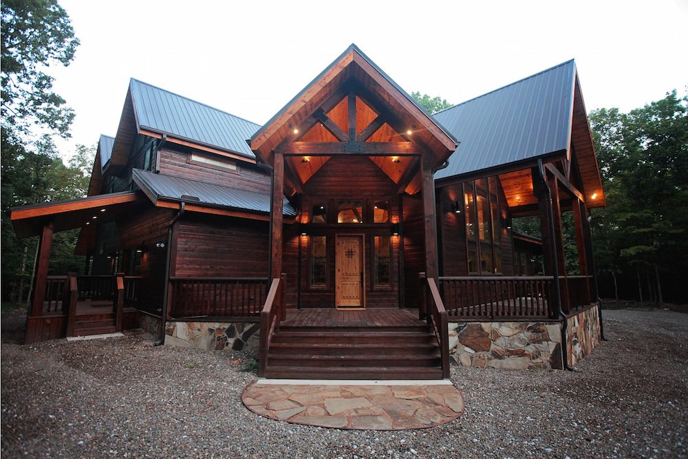 Wisdom Creek Lodge In Broken Bow OK Sleeps Hidden