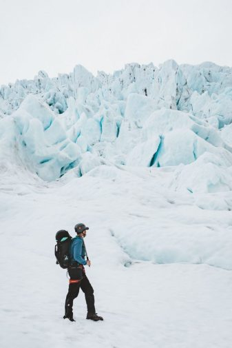 Falljökull Glacier Hike | Jökulsárlón Glacier Lagoon 2 day tour | Hidden Iceland | Photo by EJS Creative