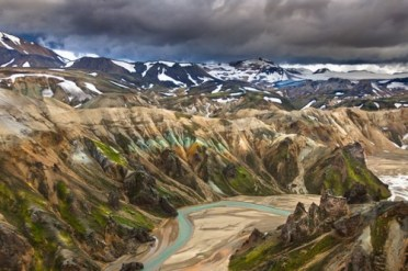 Landmannalaugar Mountains | Motorcycle Tours | Hidden Iceland
