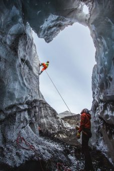 Ice Climb | Hidden Iceland | Photo by Norris Niman