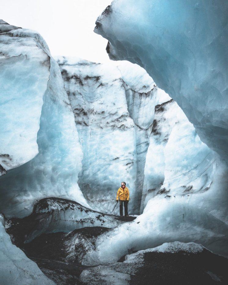 Glacier Walls | Hidden Iceland Glacier Hike on Svínafellsjökull | Hidden Iceland | Photo by Norris Niman | Feature