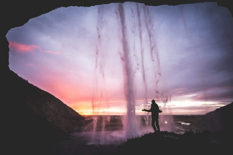 Seljalandsfoss Waterfall at Sunset | Hidden Iceland | Feature