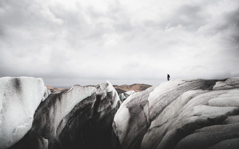 Solheimajökull crevasse | Hidden Iceland