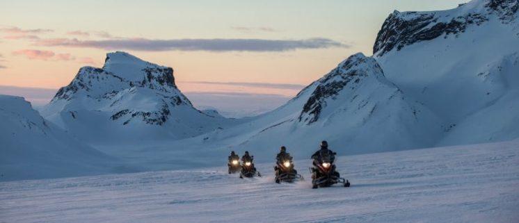 Snowmobile Langjökull Glacier | Hidden Iceland