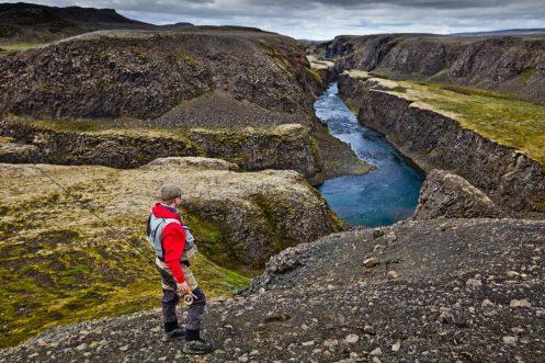 Fishing Highlands river | Hidden Iceland