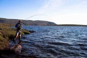 Mountain Fishing Lake | Fly Fishing Tour | Hidden Iceland