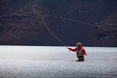 Volcano Lake Fishing | Fly Fishing Tour | Hidden Iceland