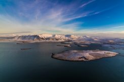 Mount Esja in Wintertime | Helicopter Tours | Hidden Iceland