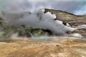 Hengill Geothermal Area on the Norðurflug geothermal helicopter tour | Helicopter Tours | Hidden Iceland
