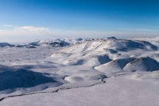 Hengill Area in Wintertime | Helicopter Tours | Hidden Iceland
