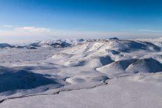 Hengill Area in Wintertime   Helicopter Tours   Hidden Iceland