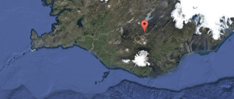 Volcano Lake Fishing Map | Fly Fishing Tour | Hidden Iceland