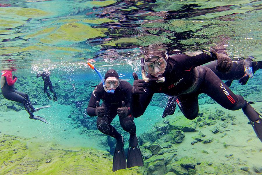 Snorkel Silfra in a Wetsuit tour | Hidden Iceland