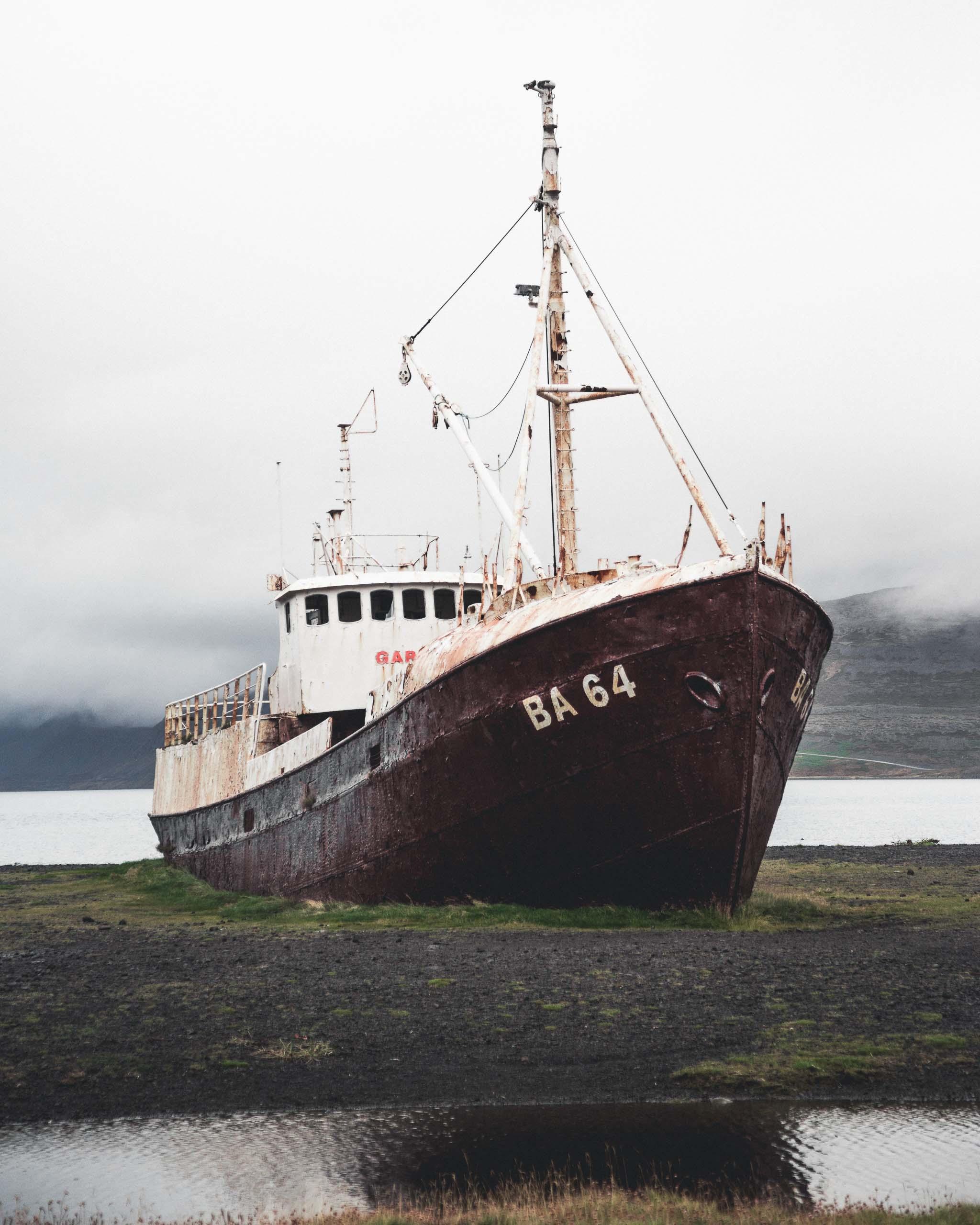 Abandoned Westfjords Ship   Hidden Iceland   Photo by Norris Niman
